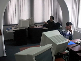 The earliest cybercafe in Romania,Timisoara
